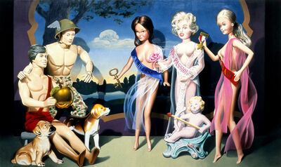 Charles Bell, 'The Judgment of Paris', 1986