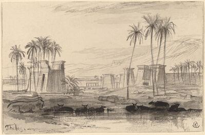 Edward Lear, 'Thebes', 1884/1885