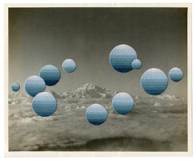 Julie Cockburn, 'Blue Moons', 2020