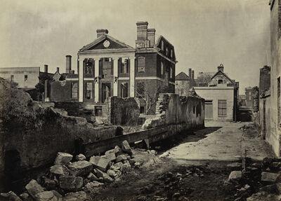 George N. Barnard, 'Ruins of the Pinckney Mansion, Charleston, South Carolina, from Photographic Views of Sherman's Campaign', 1865