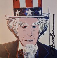 Andy Warhol, 'Uncle Sam', 1981