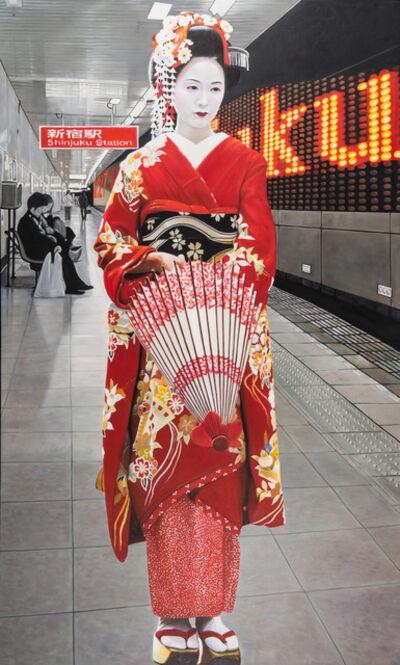 RYOKO WATANABE, 'to shinjuku', 2011