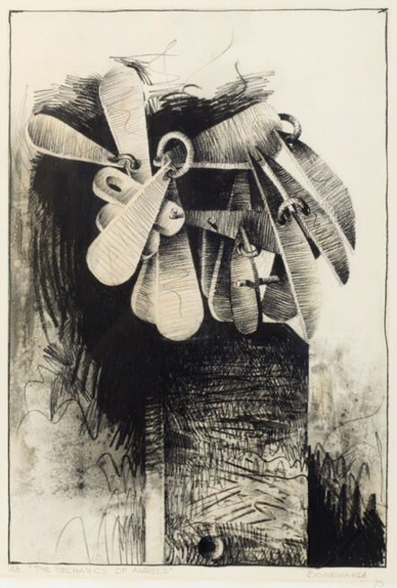 Marcelo Bonevardi, 'The mechanic of angels ', 1975