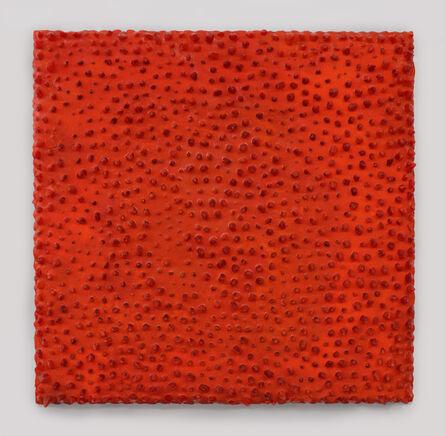 Carson Fox, 'Fire Orange Lumps', 2019