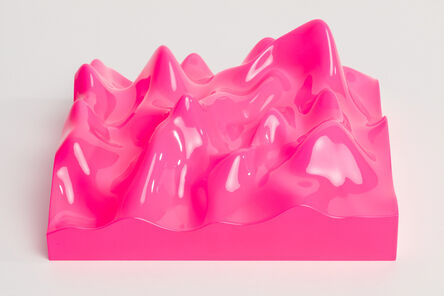 Peter Saville, 'Unknown Pleasure, Fluro Pink', 2015