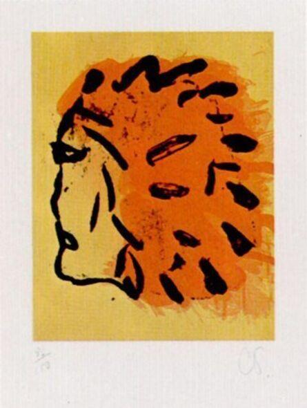 Claes Oldenburg, 'Injun Foster', 1973