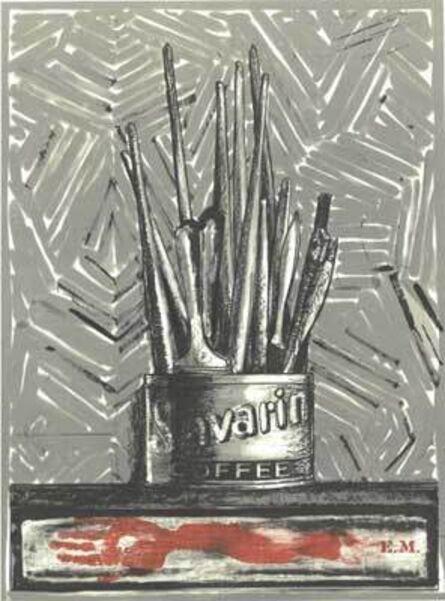 Jasper Johns, 'Savarin (E.M.)', 1977-1981