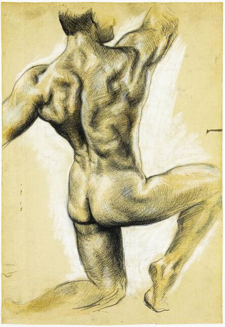 John S Barrington, 'Athletic Pose', 1921-1991