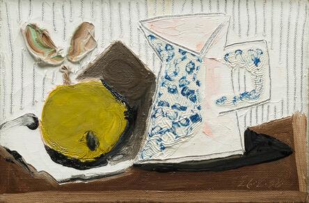 Pablo Picasso, 'Nature morte au pichet et à la pomme', 26 February 1938
