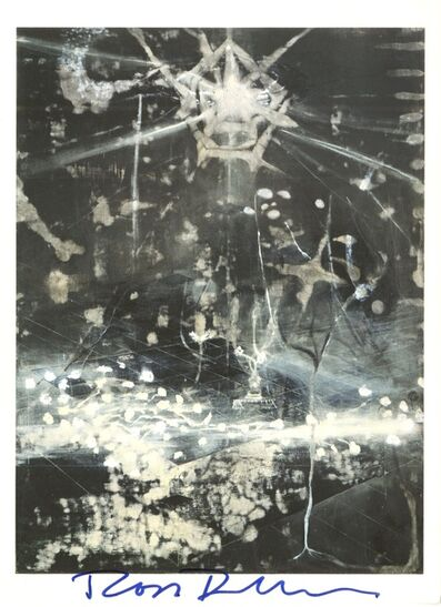 Ross Bleckner, 'The Seventh Examined Life: Offset Lithograph Invitation for Mary Boone Gallery (Hand Signed) ', 1991