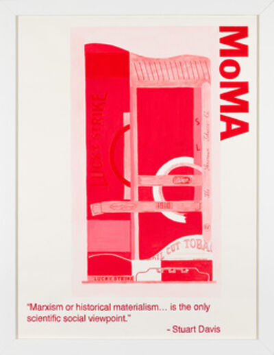 Yevgeniy Fiks, 'Communist Tour of MoMA (Stuart Davis)', 2010