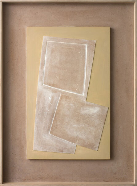 Ben Nicholson, '1971 (two squares and very green)', 1971