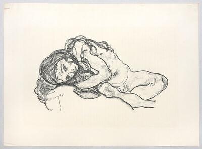 Egon Schiele, 'Madchen. (Girl.)', 1918