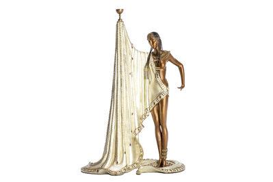 Erté, 'Erte Slave Original Bronze Sculpture Art Deco Contemporary Art', 1988