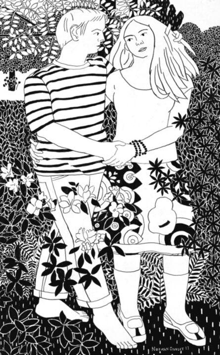 Norman Gilbert, 'The Rowan Tree B&W', 2011