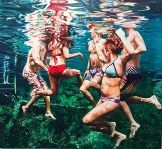Anne Leone, 'Cenote Azul #38', 2020