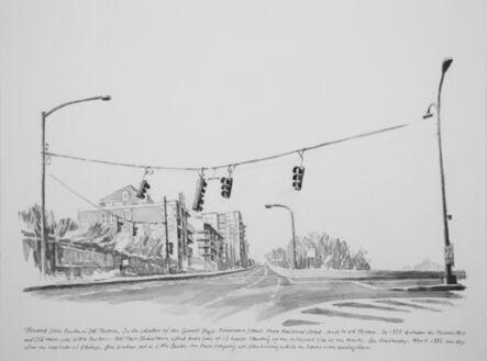 Zhi Lin, 'Toward Little Canton in Old Tacoma', 2017
