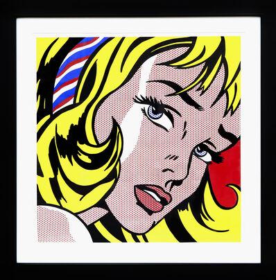 Roy Lichtenstein, 'Girl with Hair Ribbon', 1982