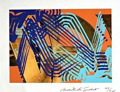 Mark di Suvero, 'Untitled Abstract Expressionist Print', ca. 2010