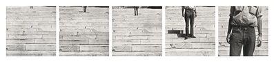 Robert Rauschenberg, 'Cy + Roman Steps (I–V)', 1952; printed ca. 1997