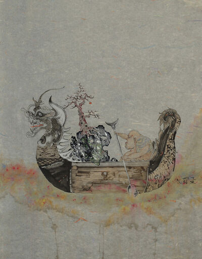 Zhenhua He, 'River Crossing Plan No. 5', 2015