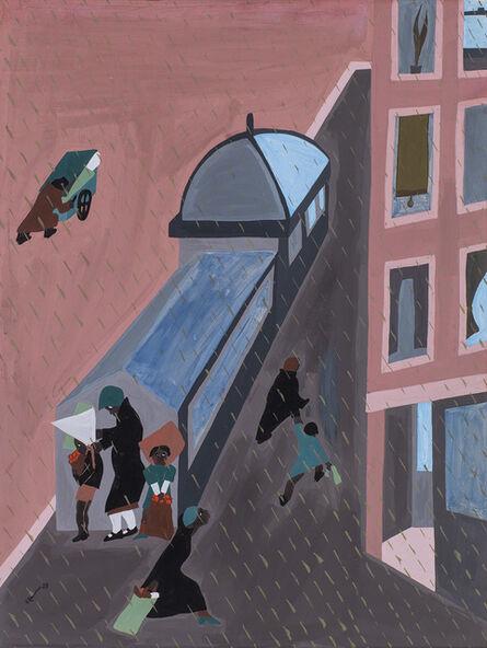 Jacob Lawrence, 'Rain', 1938