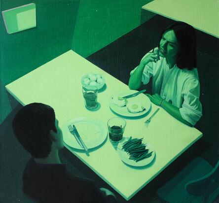 Tristan Pigott, 'Green Dinner', 2015