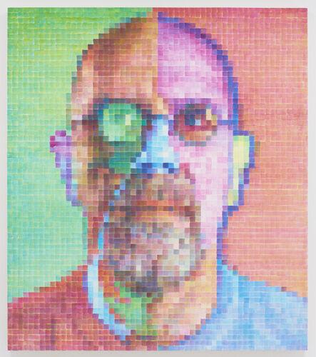 Chuck Close, 'Self-Portrait IV', 2014-2015