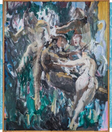Zhou Yilun 周轶伦, 'Untitled (four women and one man)', 2017