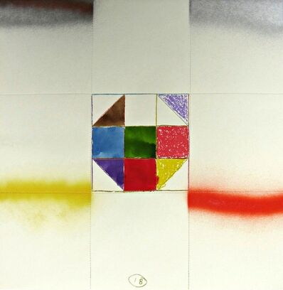 Alan Shields, 'Lonely Night', 1969