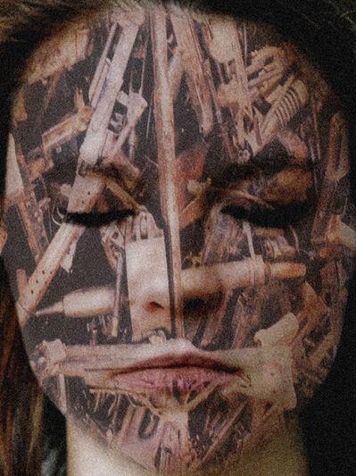 Yves Hayat, 'Mask (accumulation d'armes)', 2006