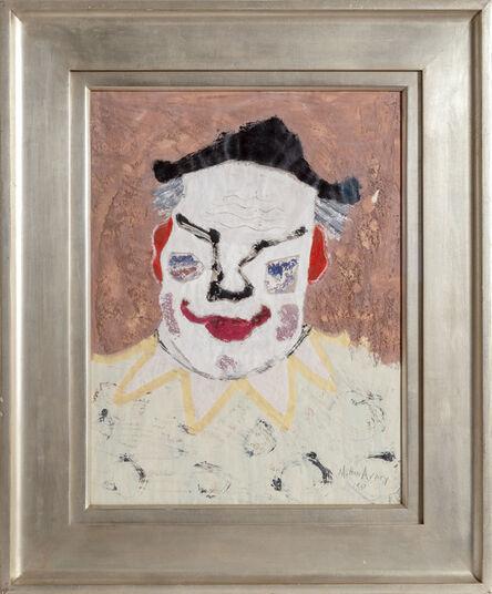 Milton Avery, 'Clown', 1950