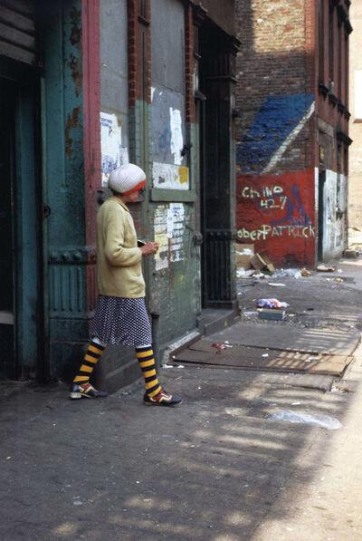 Helen Levitt, 'N.Y.C. (striped socks)', 1990-1999