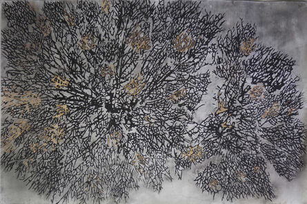 G.R. Iranna, 'Burnt Branches ', 2017