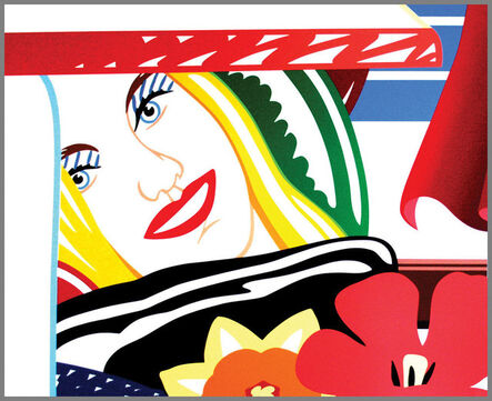 Tom Wesselmann, 'Bedroom Face (from Bedroom Painting #41)', 1990
