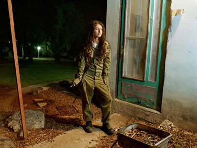 Rachel Papo, 'A sniper instructor outside her room', 2005