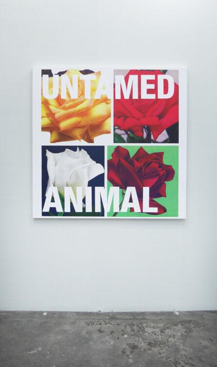 Cali Thornhill Dewitt, 'Untamed Animal', 2015