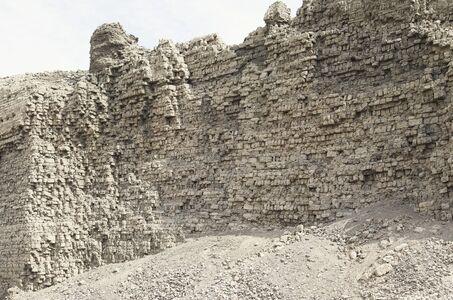 Bas Princen, 'Brick Wall II (Dendera)', 2013