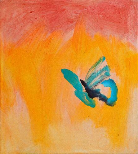Robert Weissenbacher, 'Butterfly an fire', 2020