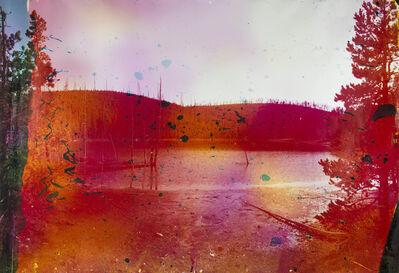 Matthew Brandt, 'Rainbow Lake, WY 6', 2013