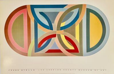 Frank Stella, 'Frank Stella , Los Angeles County Museum of Art, Protractor Variation, 1969', 1984