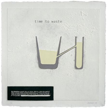Julião Sarmento, 'Time to Waste', 2007