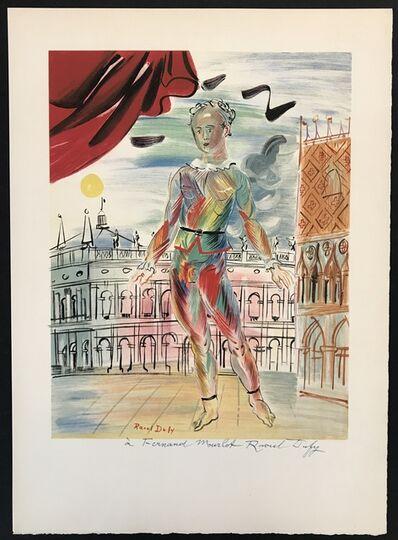 Raoul Dufy, 'Arlequin a la Maniere Venitienne', ca. 1950