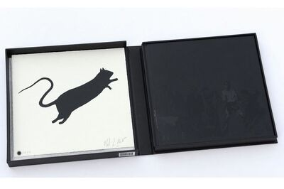 Blek le Rat, 'Getting Through Walls: Book & Print Special Edition', 2008
