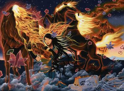 Yumiko Kayukawa, 'HINOEUMA (Year of The FireHorse)', 2014