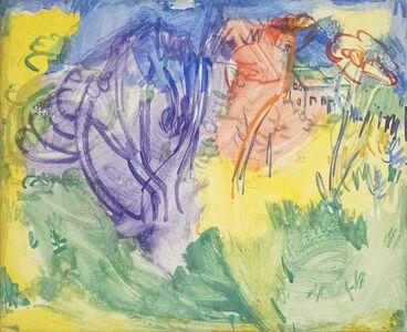Hans Hofmann, 'Purple Tree', 1936