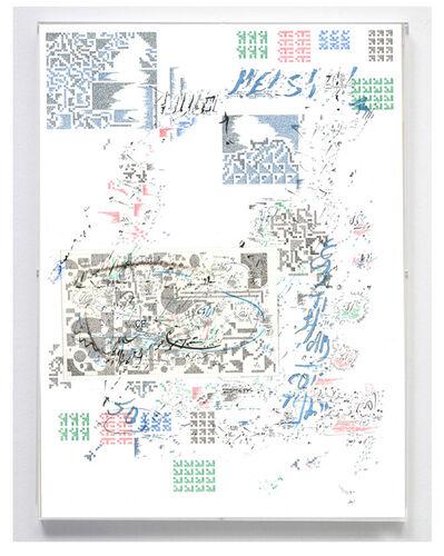 Jose Vera Matos, 'Transcripción a mano de fragmentos del libro Los Caballos de Troya de Jurgen Golte y Norma Adams.', 2019