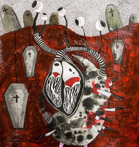 Megasoma Mars, 'Cemetery', 2014