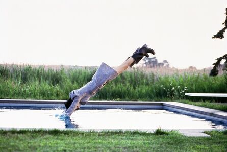 Arthur Elgort, 'Stella Diving, Watermill, NY, Vogue', 1995