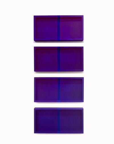 Brian Wills, 'Untitled (YKB Quadtych)', 2021
